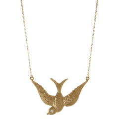 Large Swallow Necklace