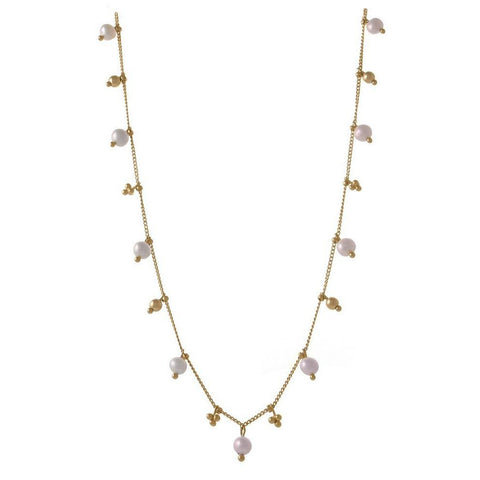 Simple Chain with Gemstones