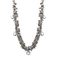 Vine Blue Topaz Necklace