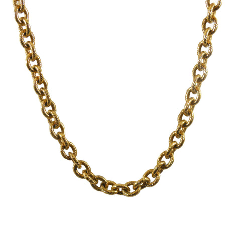 40% OFF! Rare Early Victorian 18k Gilt Chunky Chain