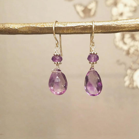 Small Briolette Earrings