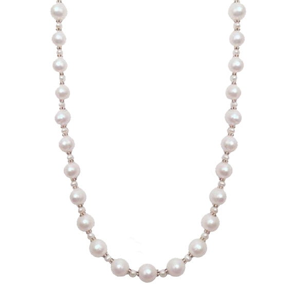 Pearl Straight Beaded Necklace