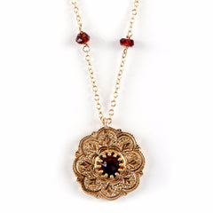Gypsy Necklace with Gem