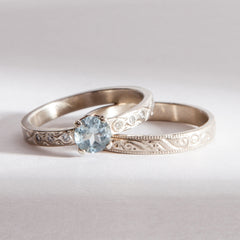 Tying the Knot Engagement Ring