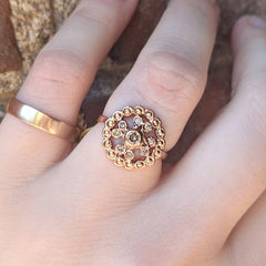 Lace Cast Ring