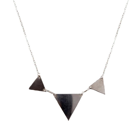 Triangle Trio Necklace
