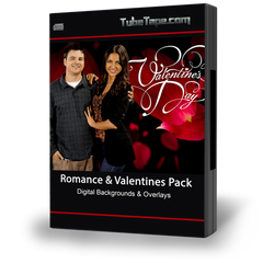 Romance & Valentines Pack Digital Backgrounds + FREE Volume II