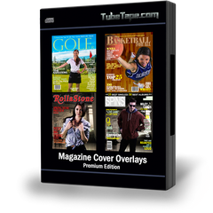 Magazine Cover Overlays Premium Edition