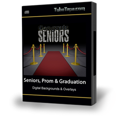 Seniors, Prom & Graduation Digital Backgrounds
