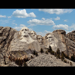 Mount Rushmore Digital Background