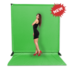 8' x 8' Chromakey Tension Backdrop System