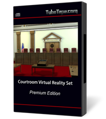Courtroom Virtual Reality Set
