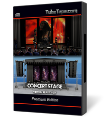 Concert Stage Virtual Reality Set
