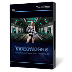 VideoWorks Green Screen Video Compositing Kit