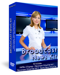 Broadcast News Video Editing Kit