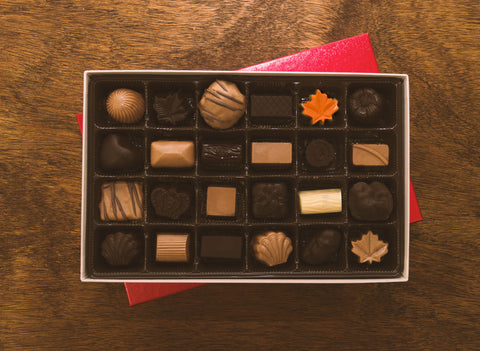 24 pc. Mixed Chocolate - Ghraowi Chocolate Company