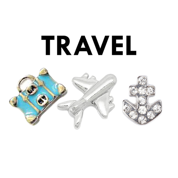 Travel and holiday charms