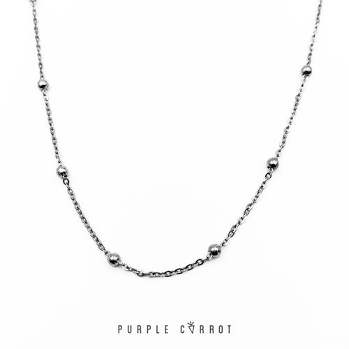 Italian Ball Chain Necklace & Bracelet