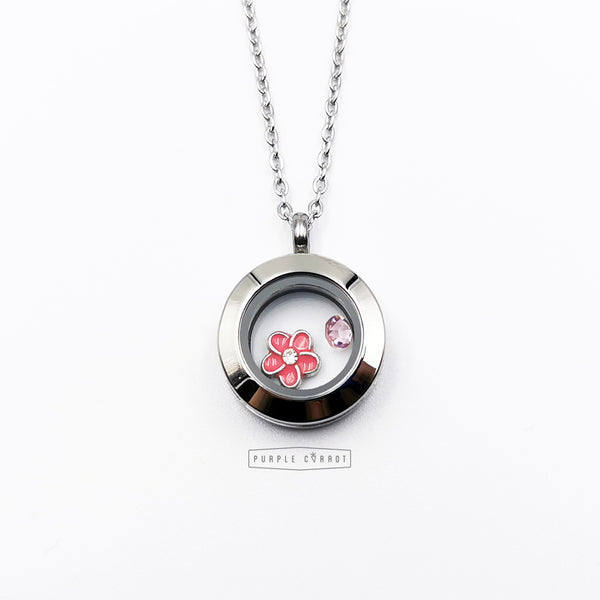 Breast Cancer locket