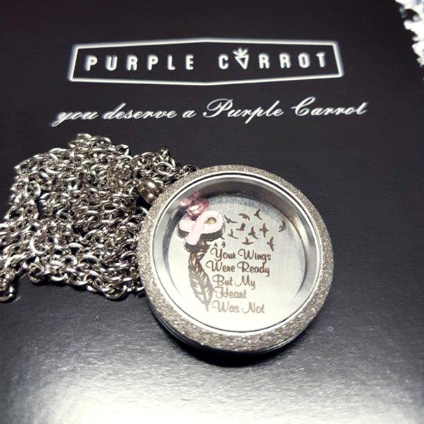 Breast Cancer Awareness Lockets