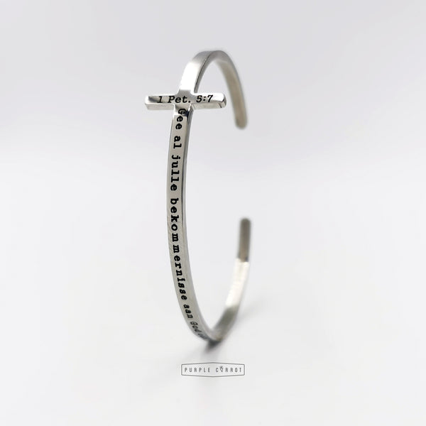 Cross Cuff bangle