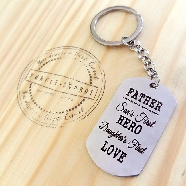 Father Keychains