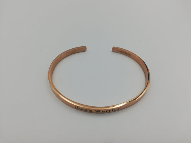 Christmas in July Rose Gold Inspiration Bracelet with FREE engraving