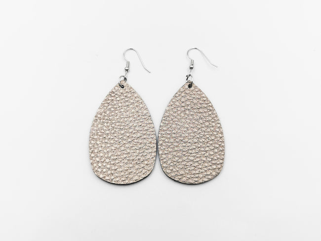 Leather Earrings Black Friday