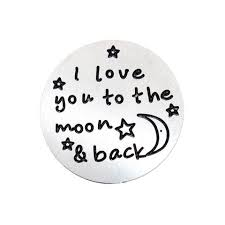 I love you to the moon backplate