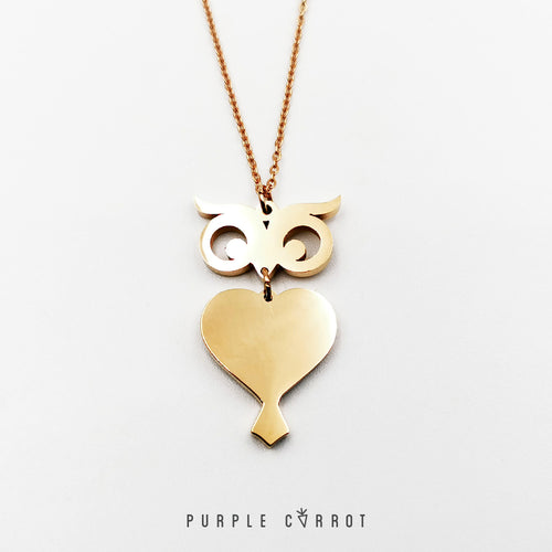 Owl Necklace Black Friday
