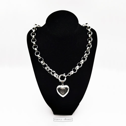 Roly Poly Necklace & Heart Set + Free Courier