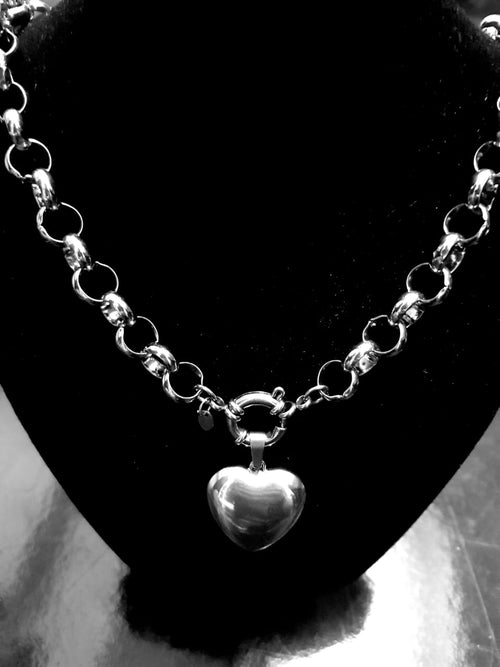 Roly Poly Necklace & heart pendant combo Black Friday