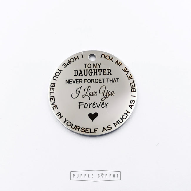 I love you forever Keychain