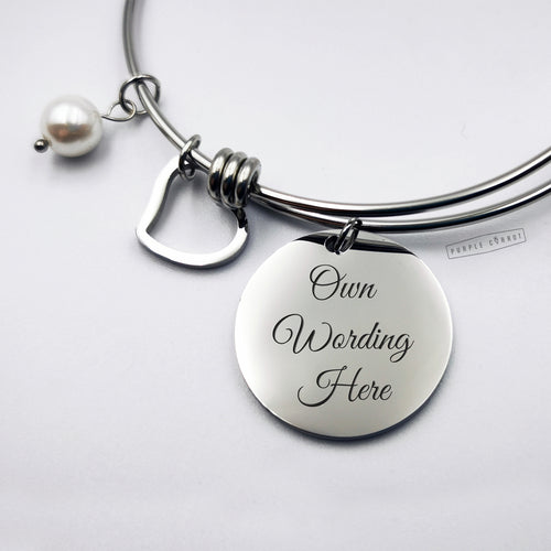 Personalised Wire Bangle