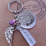 Your Wings Were Ready Necklace OR Keychain Set