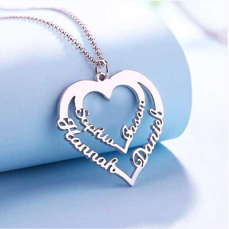 3D Bar Necklace with FREE engraving