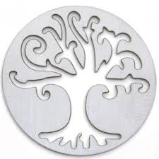 Tree of life hollow backplate