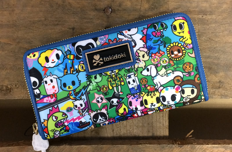 Tokidoki large wallet Summer Splash