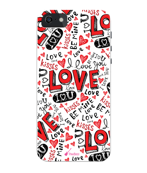 Pink Bass iPhone 5/5s Full Wrap Case iPhone 5s Kisses n Love