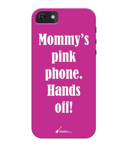 iPhone 5/5s Full Wrap Case iPhone 5s Mommys Pink Phone White.fw