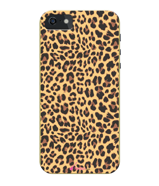 Pink Bass iPhone 5/5s Full Wrap Case iPhone 5s Leopard