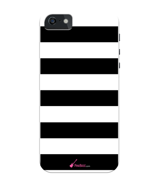 Pink Bass iPhone 5/5s Full Wrap Case iPhone 5s Black & White