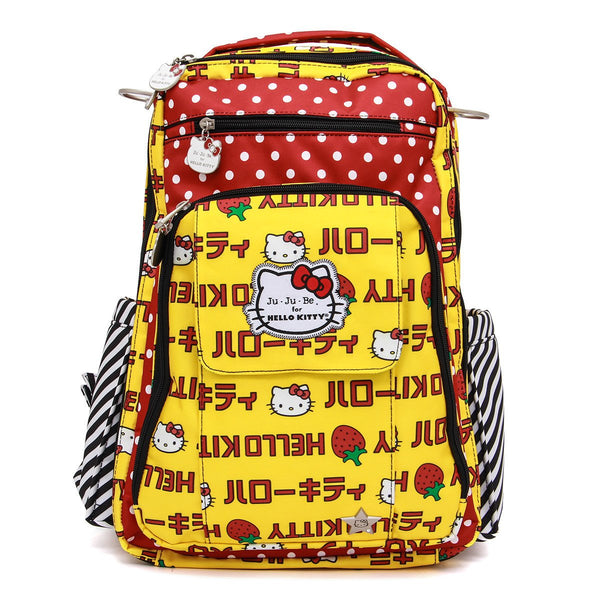 Ju-Ju-Be for Hello Kitty Be Right Back changing backpack Strawberry Stripes *