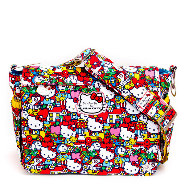 Ju-Ju-Be for Hello Kitty Better Be changing bag Tick Tock *
