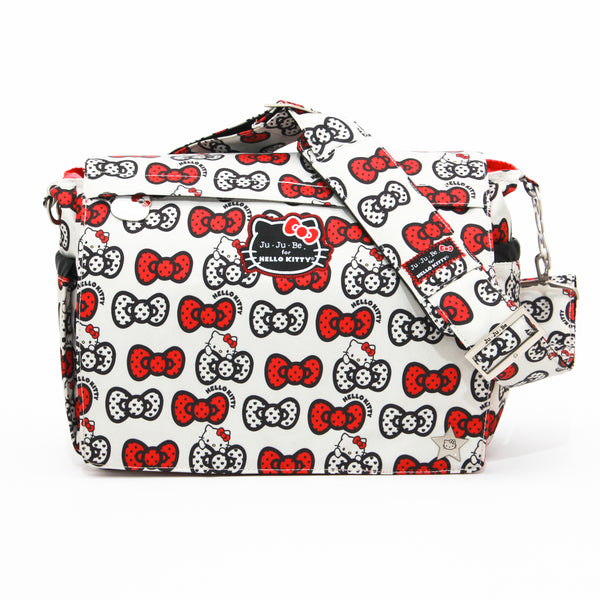 Ju-Ju-Be for Hello Kitty Better Be changing bag Peek A Bow *