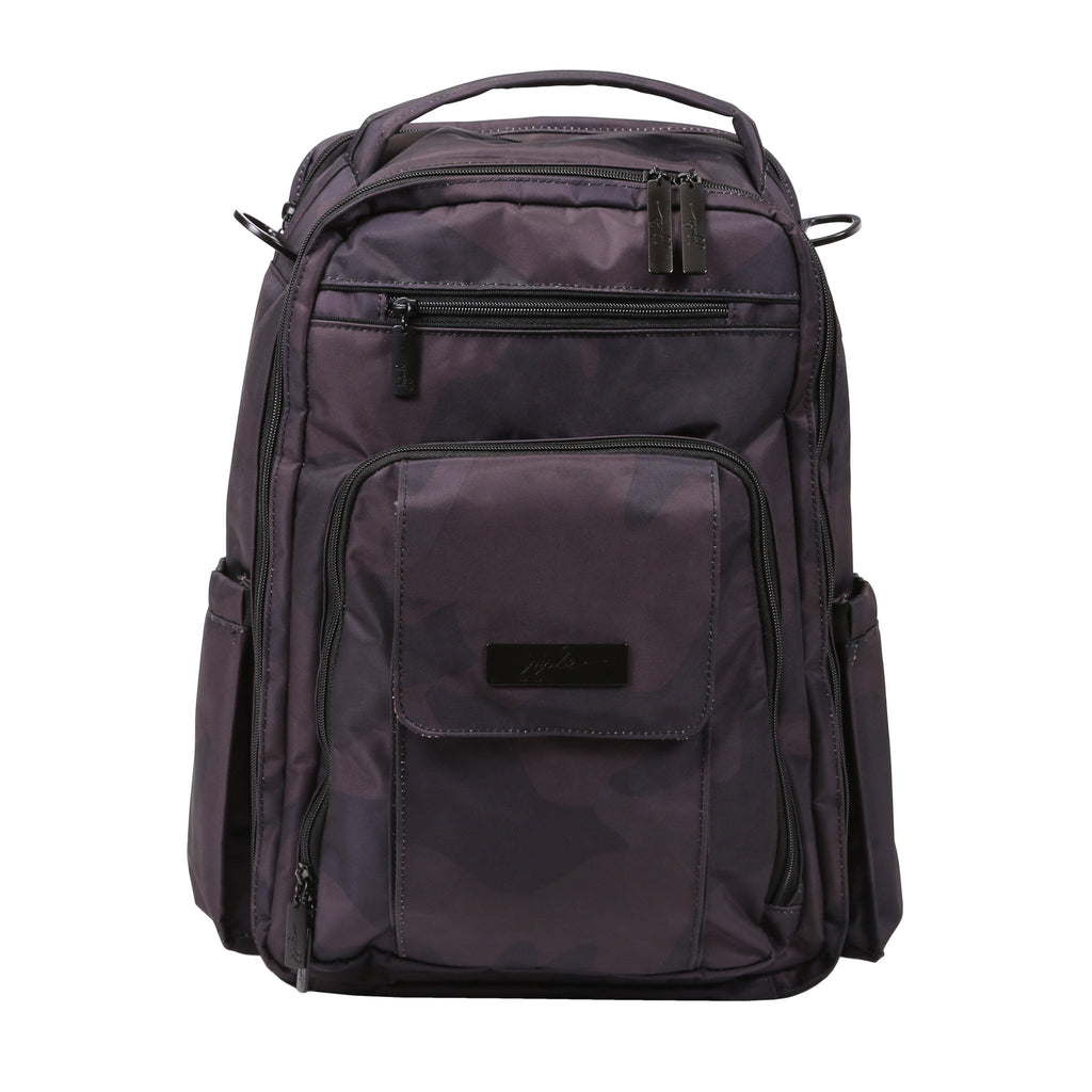 Ju-Ju-Be Onyx Be Right Back changing backpack Black Ops *