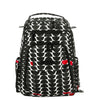 Ju-Ju-Be Onyx Be Right Back changing backpack Black Widow *