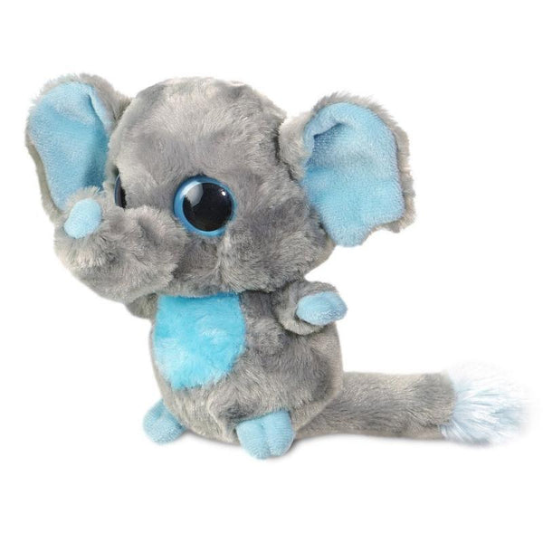 Tinee Elephant - Grey plush toy 5In / 13 cm