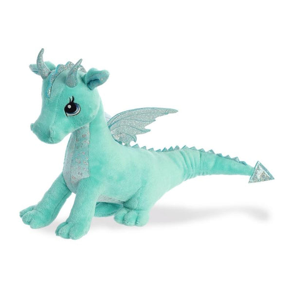 Sparkle Tales Willow Aqua Dragon plush toy 12In / 30 cm