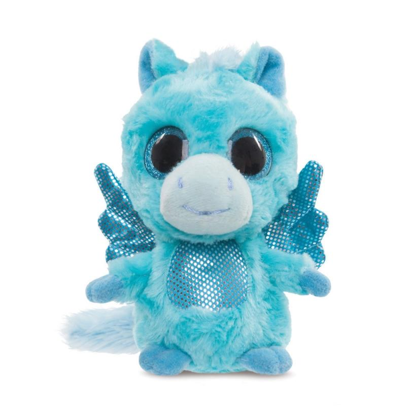 Aqua Pegasus Turquoise plush toy 5In / 13 cm